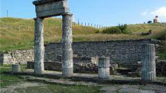 Античный город Пантикапей