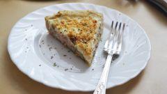Как приготовить рыбный пирог с соусом бешамель