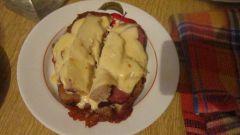 Как сделать бутерброд на сковороде?