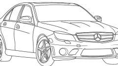 Как нарисовать поэтапно машину