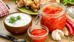 Готовим соусы к шашлыку