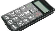 Как выбрать сотовый телефон для пожилого человека