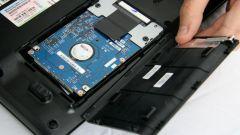 Как поменять жесткий диск на ноутбуке