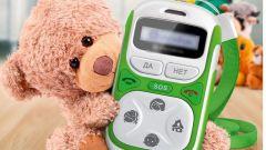 Какой сотовый телефон купить дошкольнику?