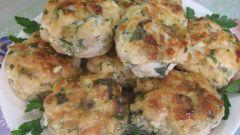 Как приготовить куриные котлетки с сыром