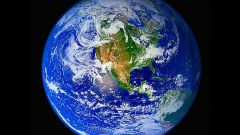 The speed with which the Earth rotates