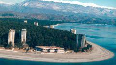 Holidays in Abkhazia: go to sandy beaches