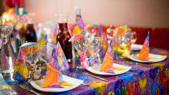 Как накрыть праздничный стол на день рождения