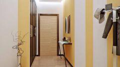 Как оформить тесный коридор