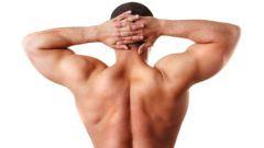 Как накачать спину