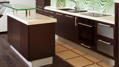 Некоторые вопросы стыковки напольной плитки и ламината