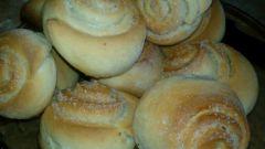 Как испечь сливочные булочки