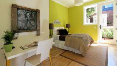 Грушевый цвет в интерьере. Сладкие мечты в окружении желто-зеленого