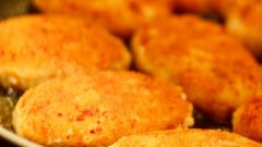 Recipe of fish cutlets of Pollack