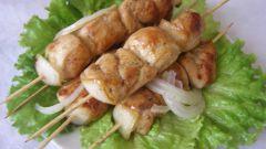 Как приготовить шашлык из курицы в духовке