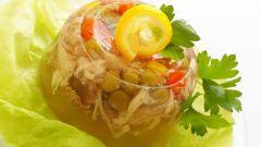 Как приготовить заливное из курицы с желатином