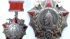 Кто изображен на ордене Александра Невского