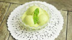 Как приготовить щавелевое мороженое