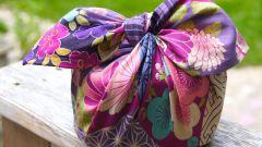 Японское искусство упаковывать подарки фурошики