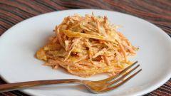 5 самых низкокалорийных салатов