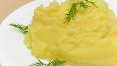 Как приготовить пюре из картошки с молоком