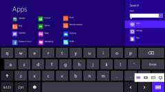 Как отключить виртуальную клавиатуру на планшете с Windows 8