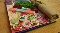 Стартовый набор для вышивания лентами