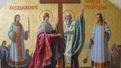Праздник Воздвижения Креста Господня: история и современность