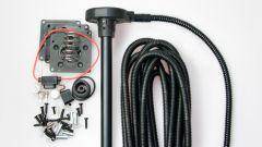 Установка датчика уровня топлива Siensor D107