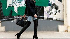 С чем носить высокие сапоги