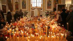 Какие продукты можно приносить на поминальный стол в храм