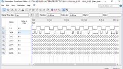 Как провести симуляцию сигнала в Simulation Waveform Editor