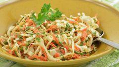 """Необычный салат """"Витаминный"""" и полезные советы по приготовлению салатов"""