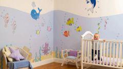 Выбор обоев в комнату ребенка