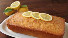 Воздушный лимонный кекс