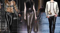 Осенние модные женские брюки 2016