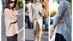 Как носить свободную одежду правильно