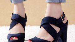 Как правильно носить ботинки с широким каблуком