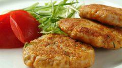 Котлеты из куриного мяса