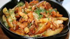 Как приготовить домашнюю жареную картошку