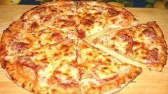 Простой рецепт домашней пиццы