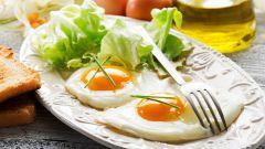 Правила приготовления яичницы
