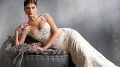 Узкое свадебное платье