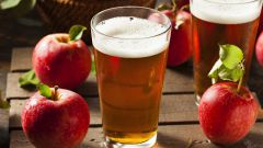 Домашний натуральный сидр из яблок