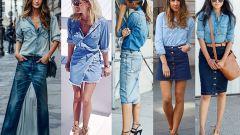 Модные джинсовые юбки этого сезона