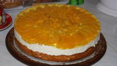 Готовим персиковый торт