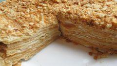Песочный торт на сковородке