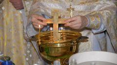 Когда набирать святую воду на Крещение Господне