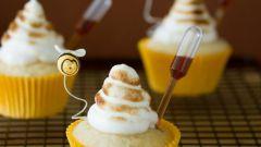 Медовые кексики к чаю за 20 минут
