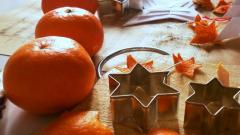 Как использовать мандариновые корки